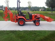 2013 Kubota BX25D Loader and Backhoe