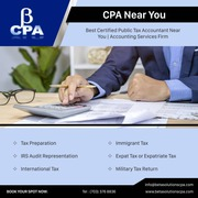 Certified Public Accountants Near You   Accounting Services Firm