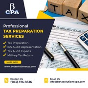 Tax Preparation Services in Tysons   Professional CPA Services