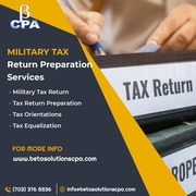 Military Tax Return Preparation Services   CPA near You